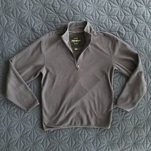 Eddie Bauer Quarter-Zip Sweatshirt (Size Small)